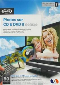 Logiciel diaporama photo : Photos sur CD & DVD 8 Deluxe