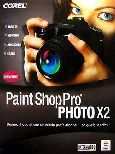 Logiciel retouche : Corel Paint Shop Pro Photo X2