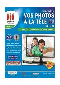Vos Photos à la Télé sur CD/DVD Deluxe 2010